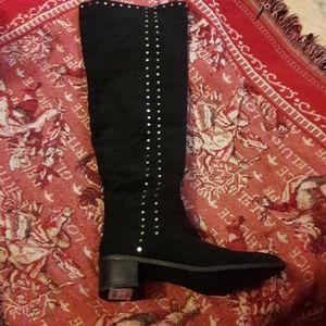 Over the knee boots, brand new